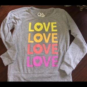 Chaser Grey Sweatshirt, NWOT, M